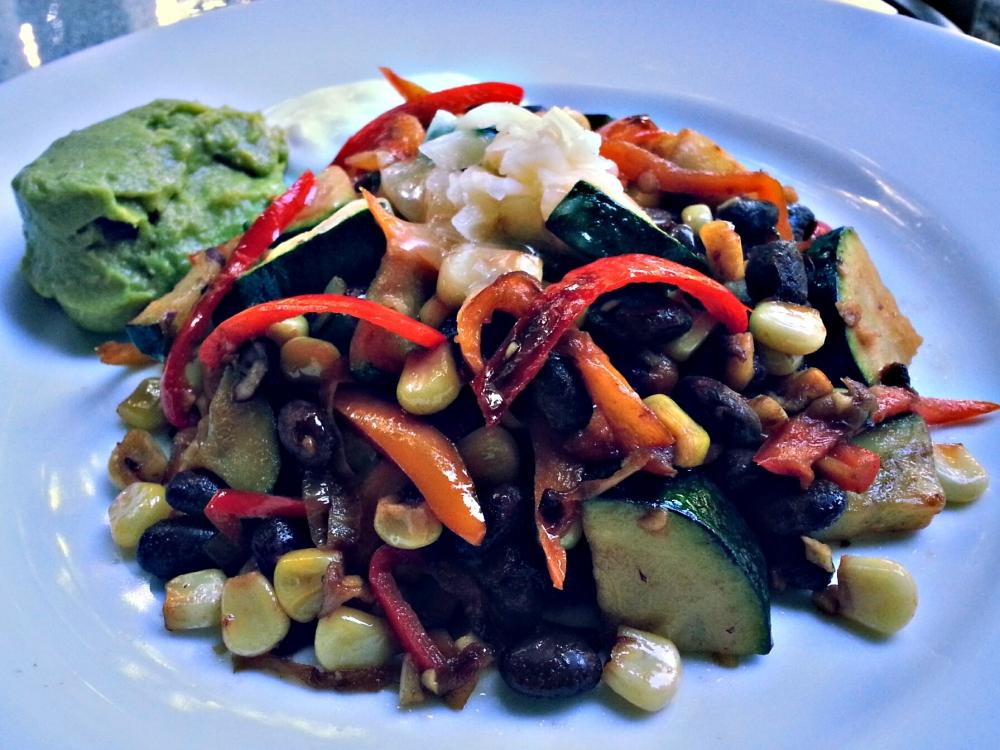 Vegetarian Stir-Fry Fajitas