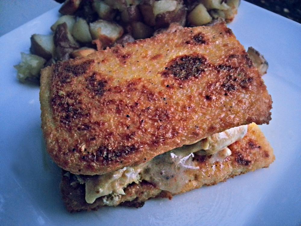 Polenta Egg Sandwiches