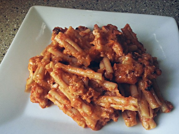 Cauliflower Pepper Pasta