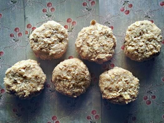 No-Bake Coconut Lemon Cookies