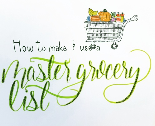 master-grocery-list